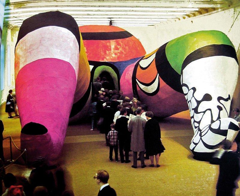 Vulva Christi de Niki de Saint Phalle. Foto: Niki de Saint Phalle. Foto: mistermotley.nl