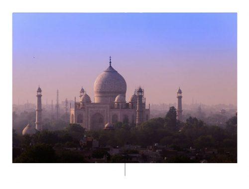 El Taj Mahal tomado por el fotógrafo Tarun Chopra