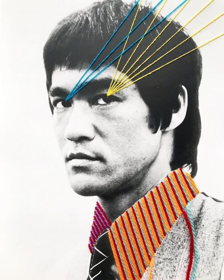 Bruce Lee di Victoria Villasana. Foto: Victoria Villasana