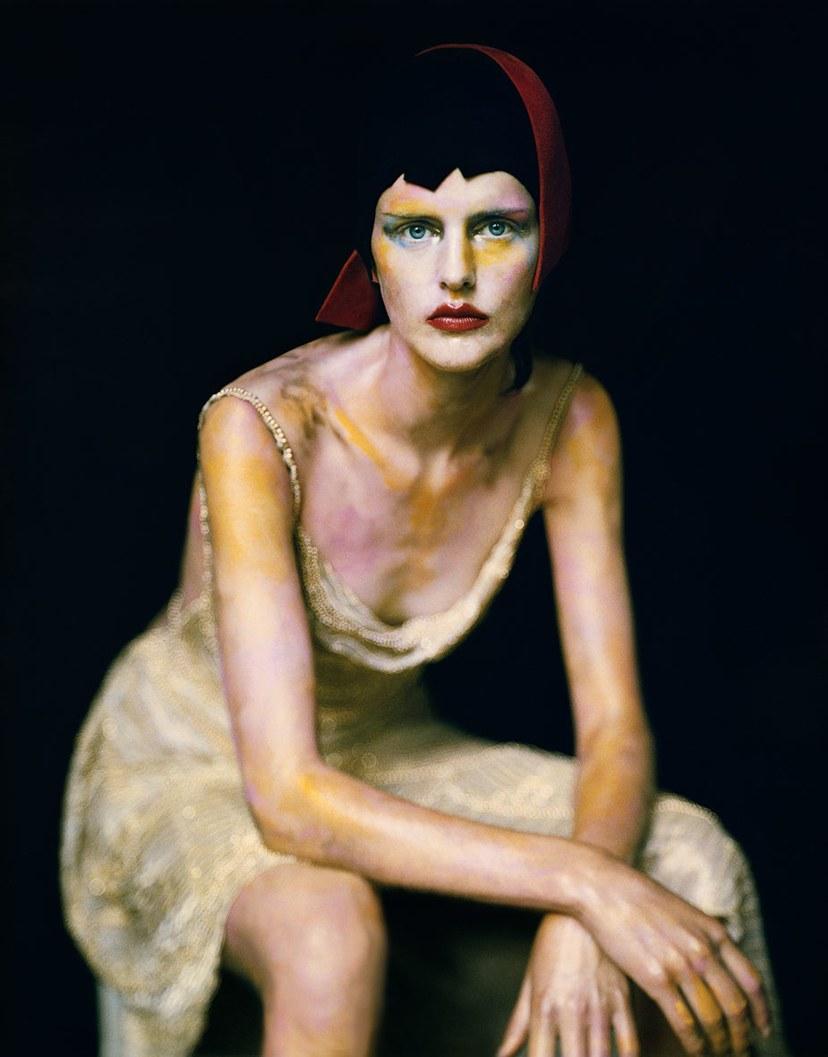 Vogue als een schilderij. Foto: Vogue