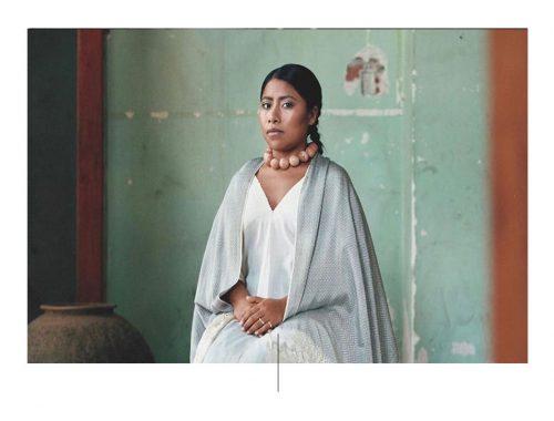 La nominada al óscar Yalitzia Aparicio. Foto: Vogue