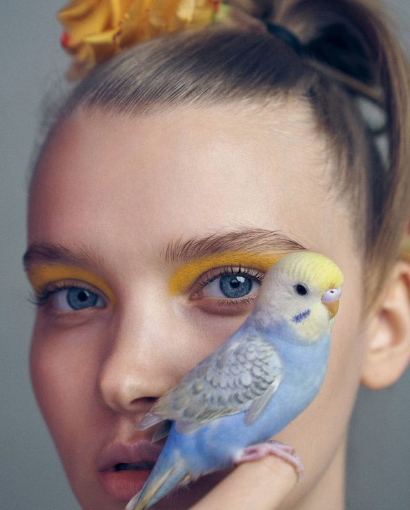 Schoonheid en vogels. Foto: Xiao Wei Xu