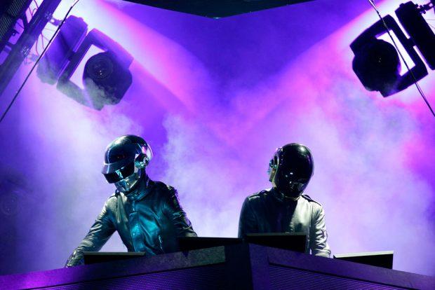 Daft Punk in concerto