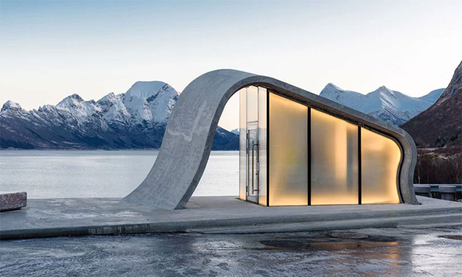 Baños Noruega. Foto de: designboom.com