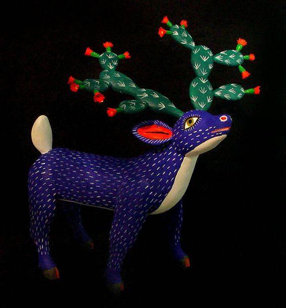 Alebrijes. Foto de: pinterest.com