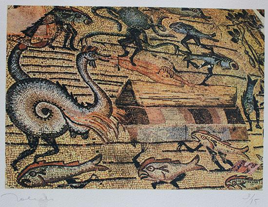 Κιβωτός του Νώε από τον Francisco Toledo (2000). Φωτογραφία: museoblaisten.com/