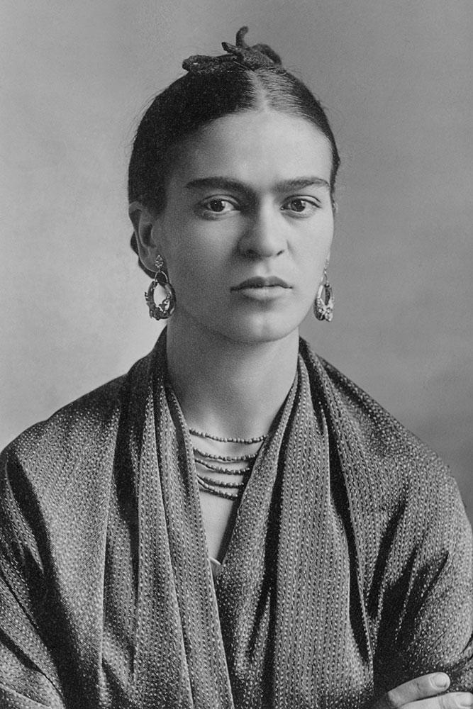 Retrato de Frida Kahlo tomado por Guillermo Kahlo. Foto: wikipedia