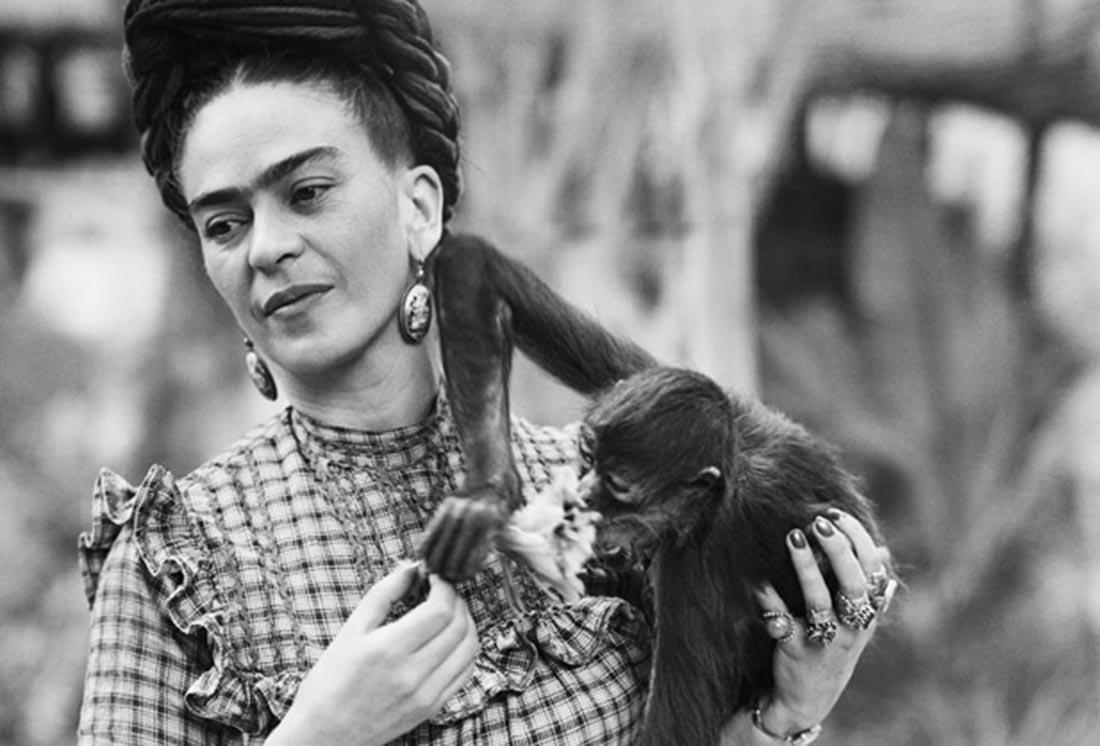 La pintora mexicana Frida Kahlo. Foto: Bettmann/CORBIS