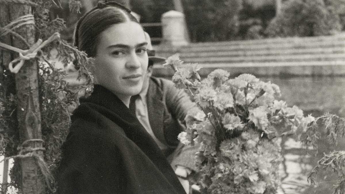 Frida Kahlo de joven. Foto: ciudad.com.ar