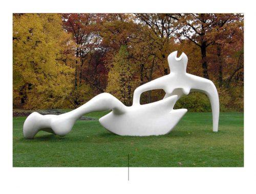 Henry Moore γλυπτική