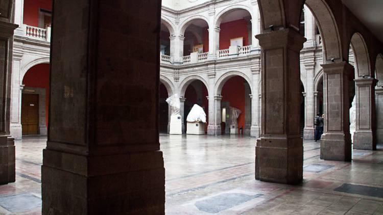 Academia de San Carlos. Foto de: pinterest.com