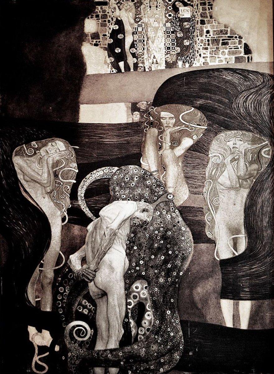 Jurisprudencia de Gustav Klimt.