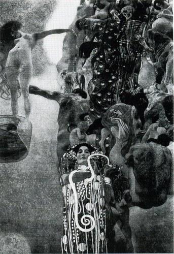 Medicina de Gustav Klimt.
