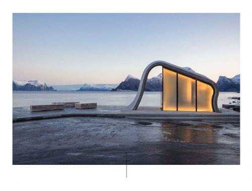 Bagni norvegesi. Foto di: designboom.com