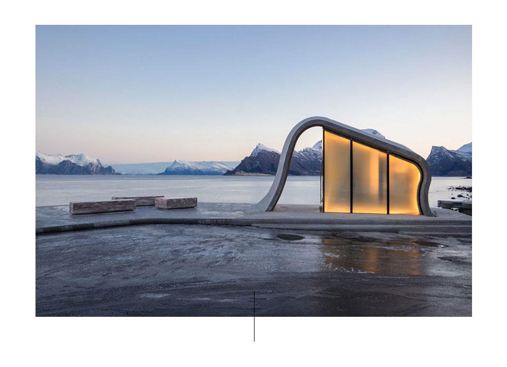 Noorwegen badkamers. Foto door: designboom.com