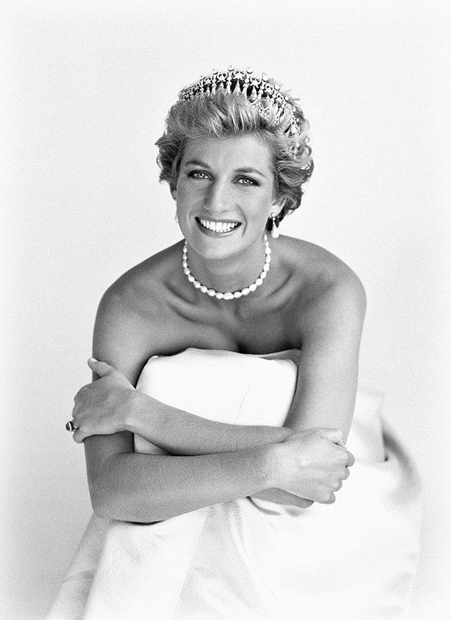 Princesa Diana de Patrick Demarchelier. Foto: pinterest.com