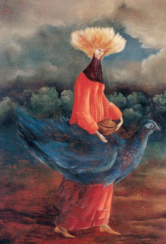 Leonora Carrington. Foto deur: pinterest.com