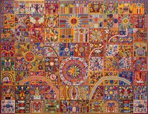 Huichol-artister. Foto av: pinterest.com