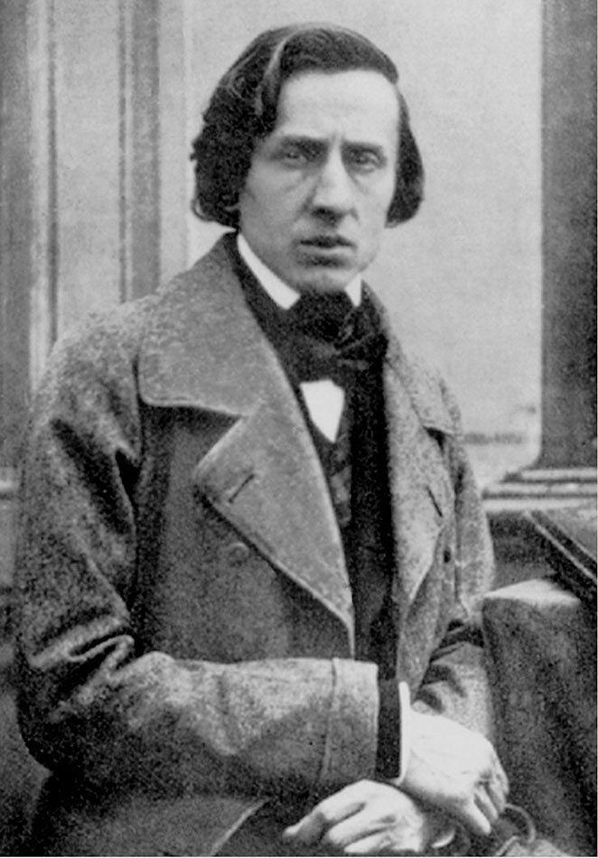 Frederic Chopin. Foto de: pinterest.com