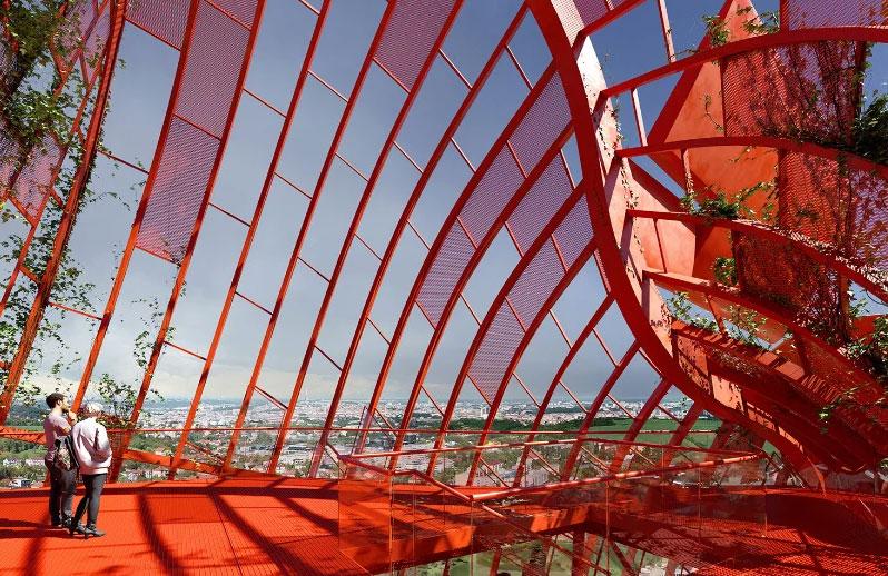 Πύργος του ναυαγίου. Φωτογραφία από: designboom.com