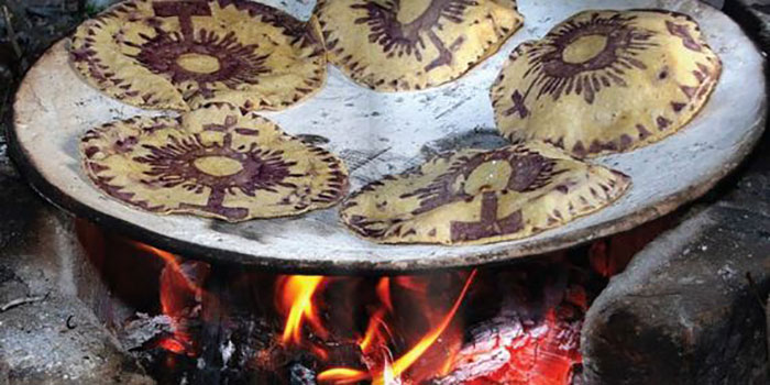 Tortillas caeremonialium. Photo: pinterest.com