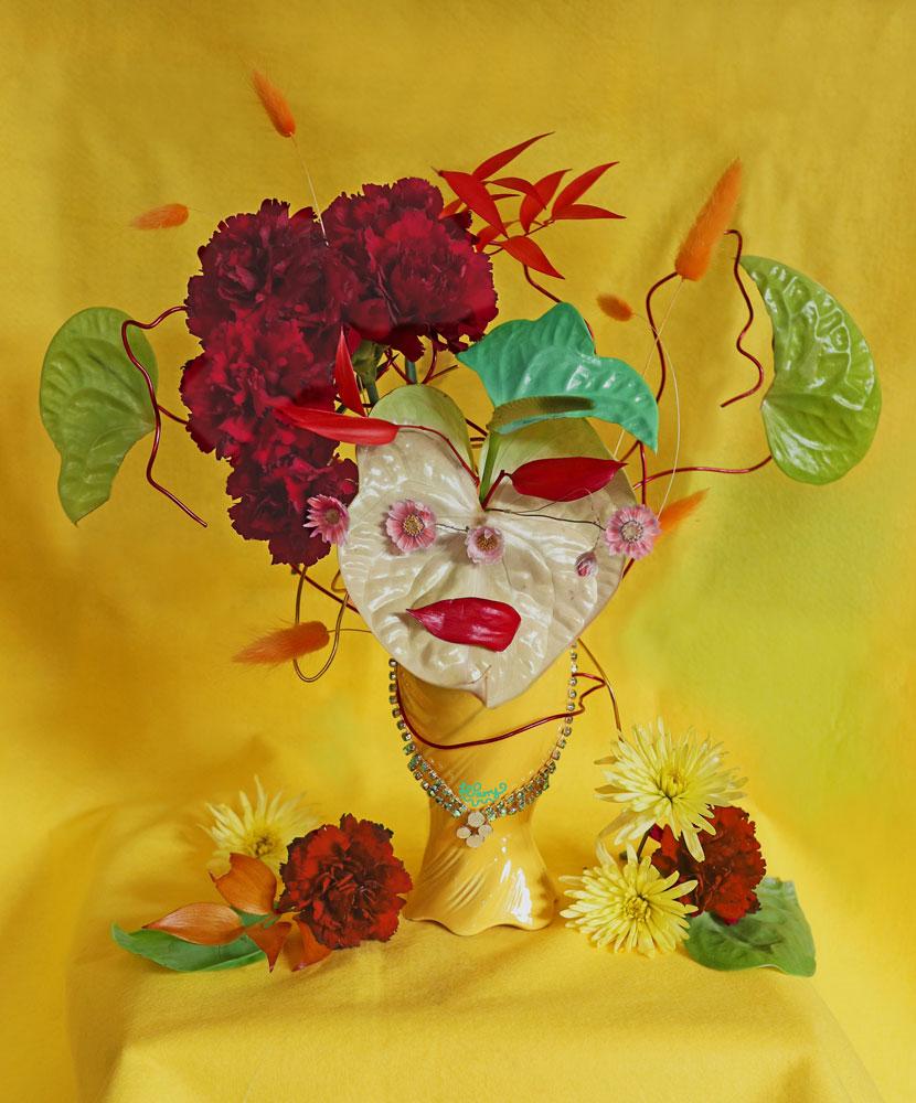 Blomstertolkning av Tête de Femme