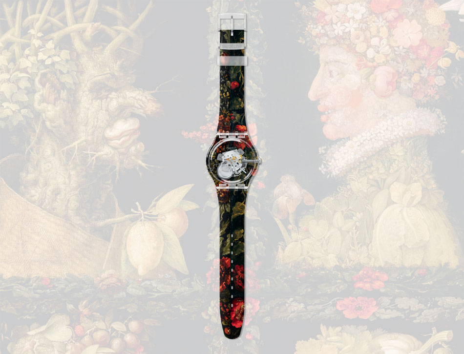 Swatch og Louvre. Foto fra: shop.swatch.com