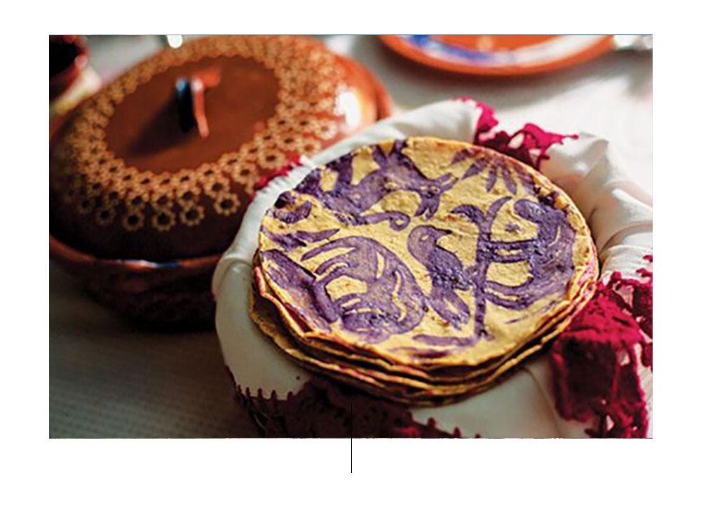 Tortillas ceremoniales. Foto de: pinterest.com