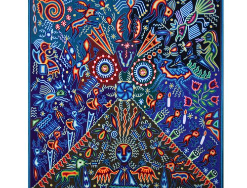 Huichol art. Foto door: pinterest.com