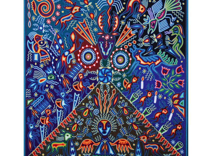 ਹੁਇਚੋਲ ਕਲਾ. ਦੁਆਰਾ ਤਸਵੀਰ: pinterest.com