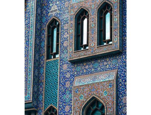 Γεωμετρία και Ισλάμ. Φωτογραφία από pinterest.com