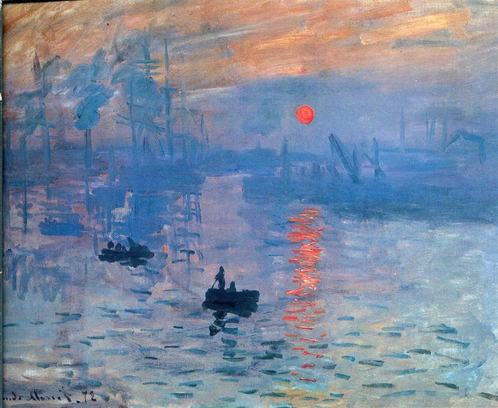 Claude Monet Foto av: pinterest.com