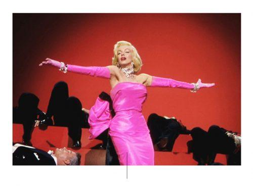 Ροζ φόρεμα Monroe. Φωτογραφία: pinterest.com
