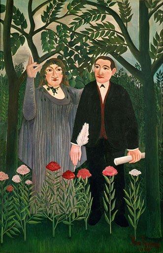 Runoilijaa inspiroiva museo maalaa