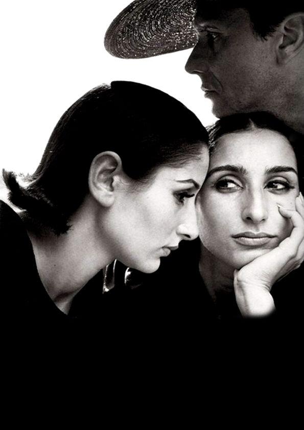 Naty Abascal, Ana Maria Abascal, Helio Guerriero, av Richard Avedon