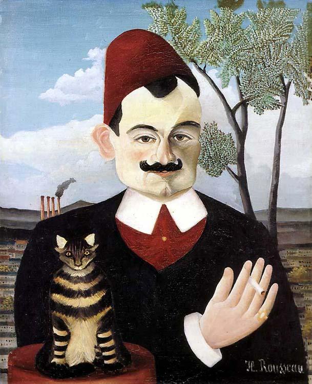 Pierre Lotin muotokuva, maalaus