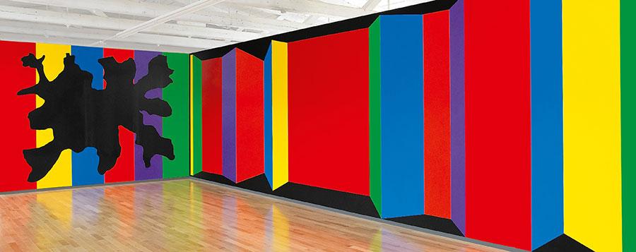 El minimalismo de Sol Lewitt. Foto: massmoca.org