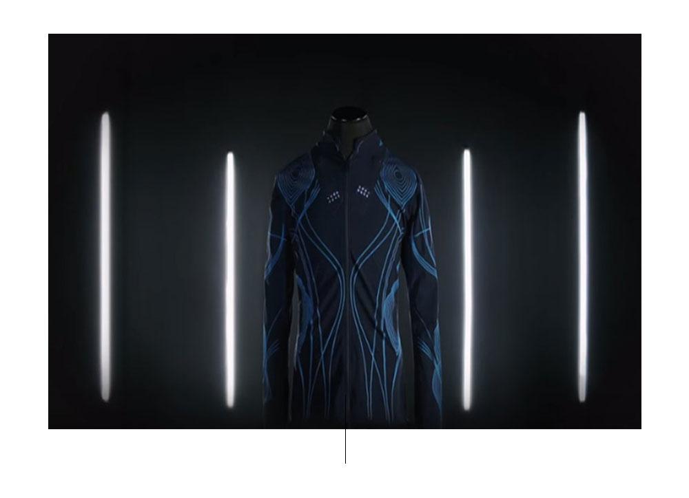 חולצת סאונד. צילום: designboom.com