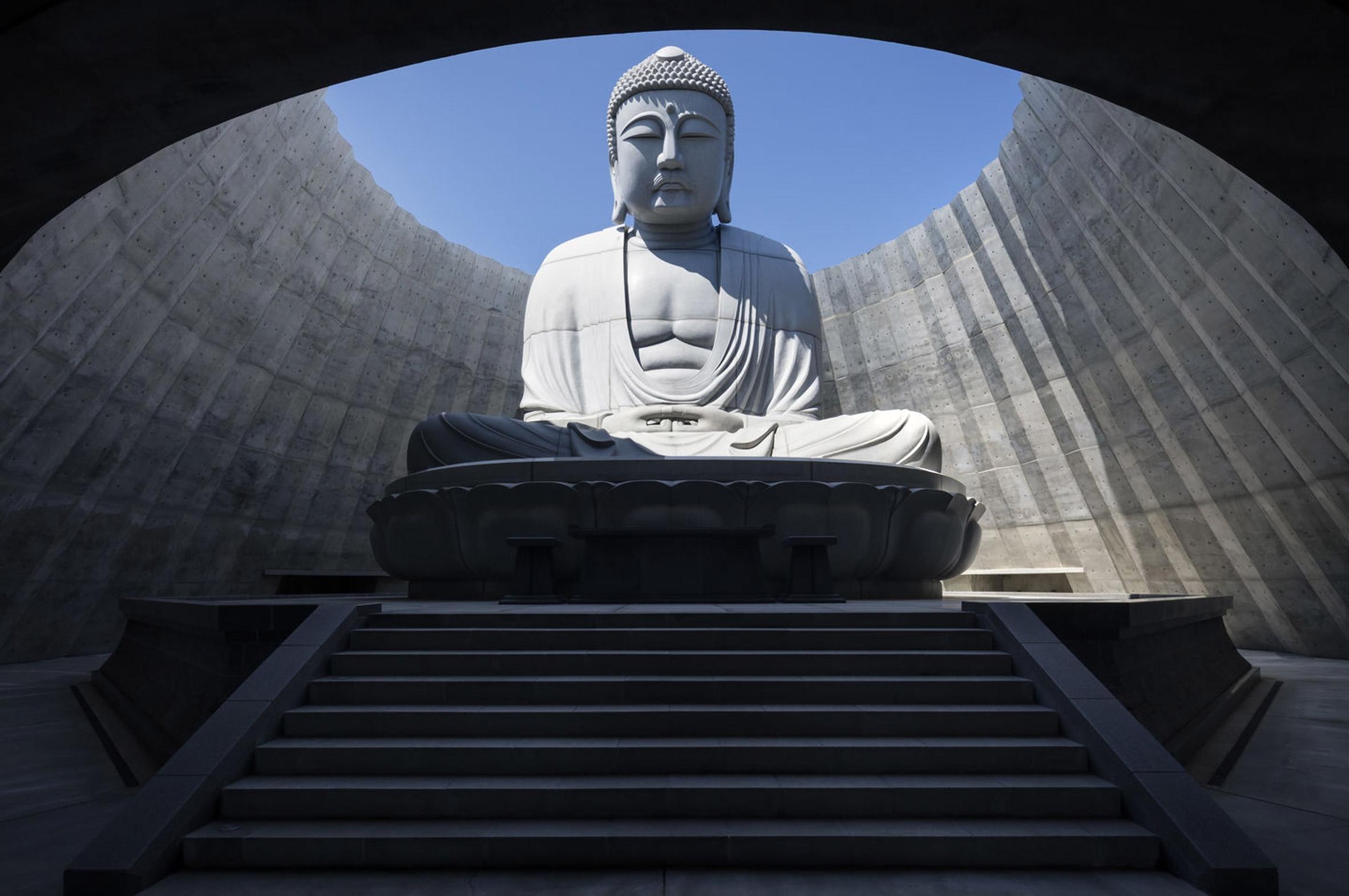 Buda del minimalista Tadao Ando. Foto: despiertaymira.com