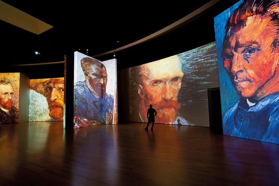 Van Gogh Alive. Foto di: FB @ vangoghalivemx