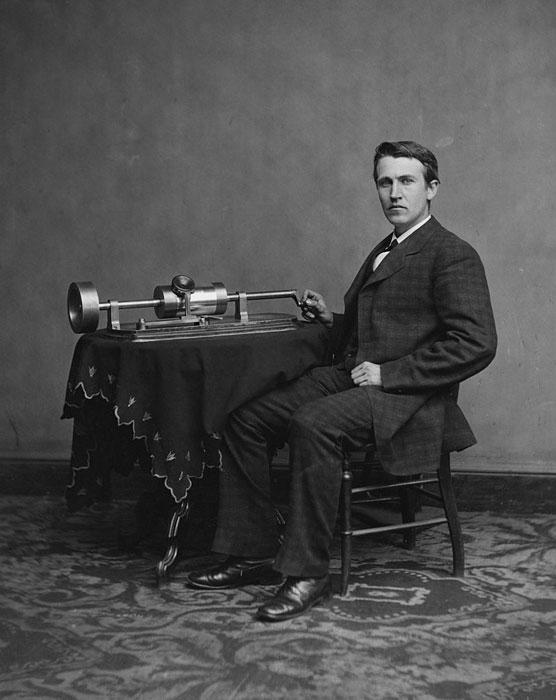 Ritratto di Thomas Alva Edison