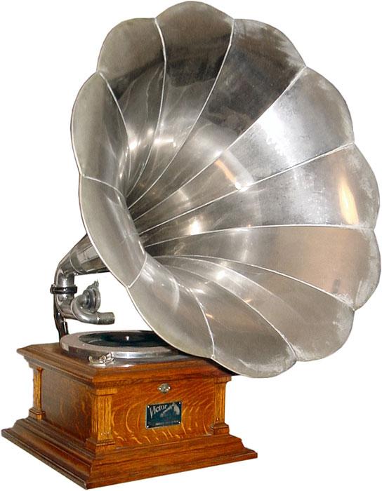 Fonografo per dischi di Victor, ca. 1912