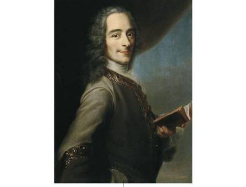 Voltaire. Foto av: pinterest.com
