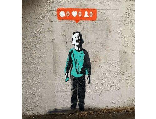 Banksy. Foto de: instagram.com