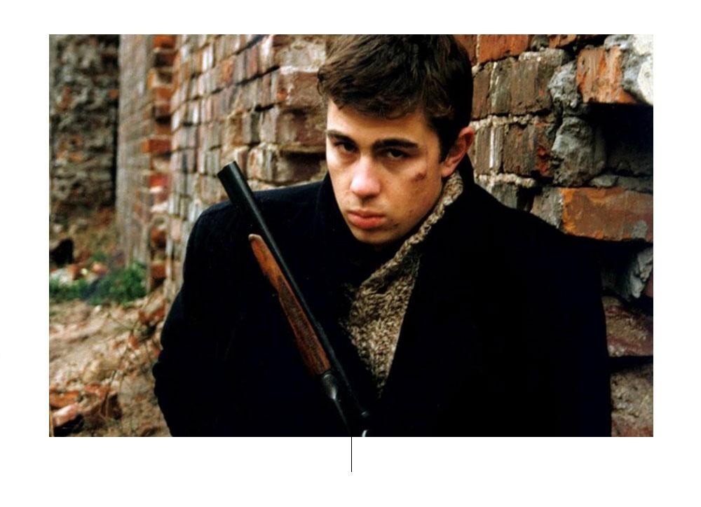Nog steeds uit de film Brat, 1997