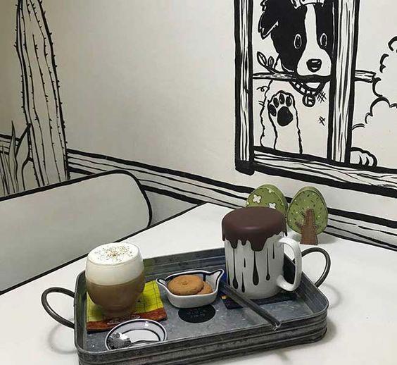 Yeonnam-dong 239-20 koffie. Foto deur: pinterest.com