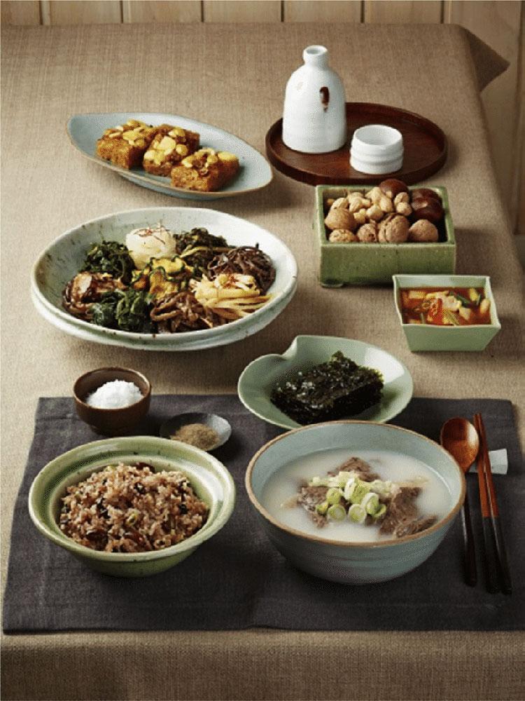 Traditioneel voedsel van Taeborum, Zuid-Korea