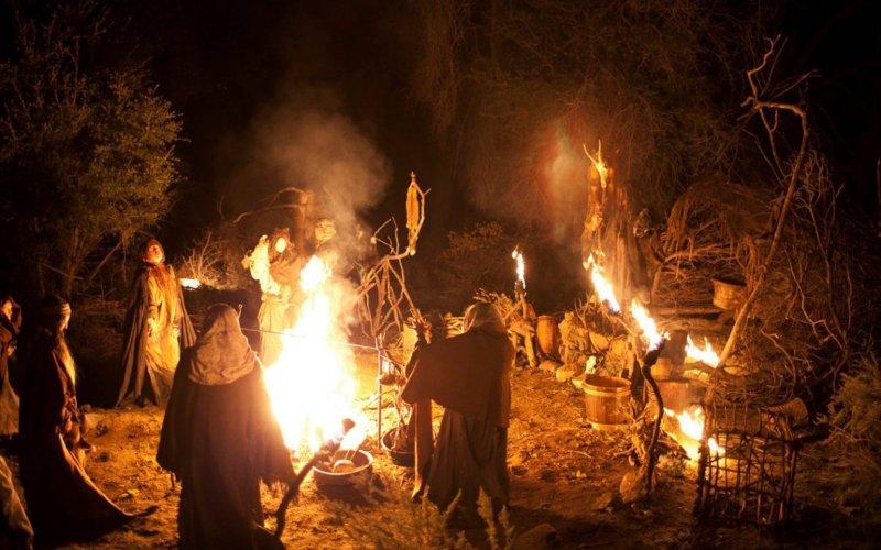 Samhain's heidense viering