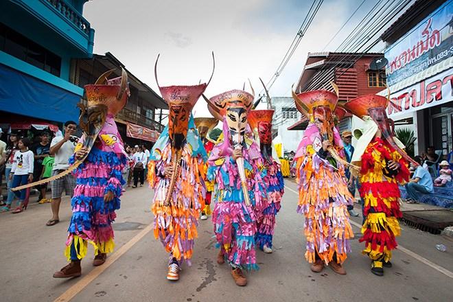 Phi Ta Khon-festival, Thailand
