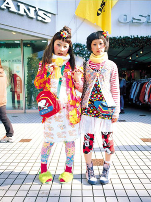 Pynt på Harajuku, sent på nittitallet